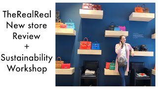 Quick Review of the new TheRealReal store on Madison Ave in NYC