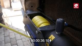 Испытание скорости намотки лебедки MadX