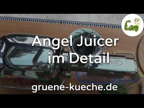 Angel Juicer im Test. Säfte pressen und Reinigung.