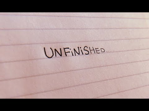 unfinished - original song || olivia ruby
