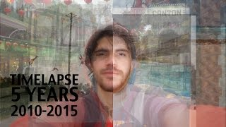 Five Years Time Lapse (picture every day)