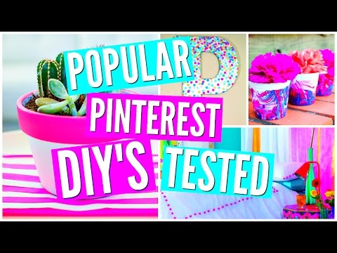 DIY Pinterest Room Decor TESTED