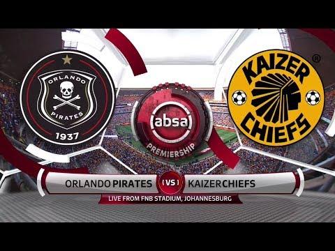 Absa Premiership 2018/19 | Orlando Pirates vs Kaizer Chiefs
