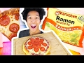 DIY 2$ Ramen PIZZA!!!
