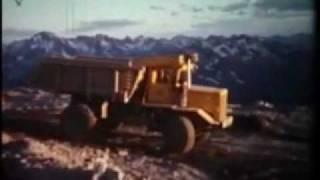 Cassiar an Asbestos Mining Company Town 1960 British Columbia Canada