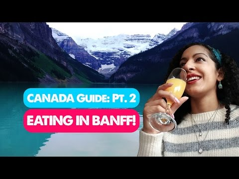 BEST RESTAURANTS IN BANFF! | Canada Travel Guide 02