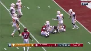 Josh Jacobs Alabama Highlights