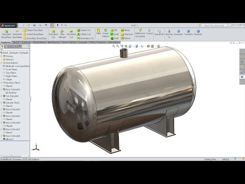 Solidworks Tutorial Design Boiler