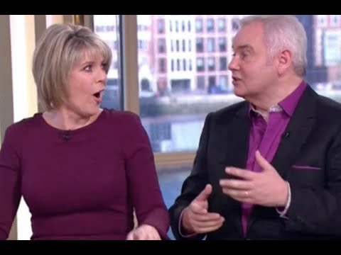 Ruth Langsford And Eamonn Holmes Open Up About Sex Life In Filthy This Morning Scenes