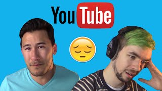 6 Saddest Moments In Youtube Videos (JackSepticEye, Markiplier, Boogie2988, PewDiePie)