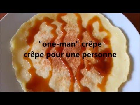 """recette-""""one-man""""-crêpe-(-pour-1-personne-)-idéal-pour-petit-déjeuner-ou-gouter"""
