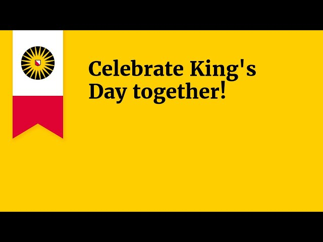 Celebrate King's Day together!