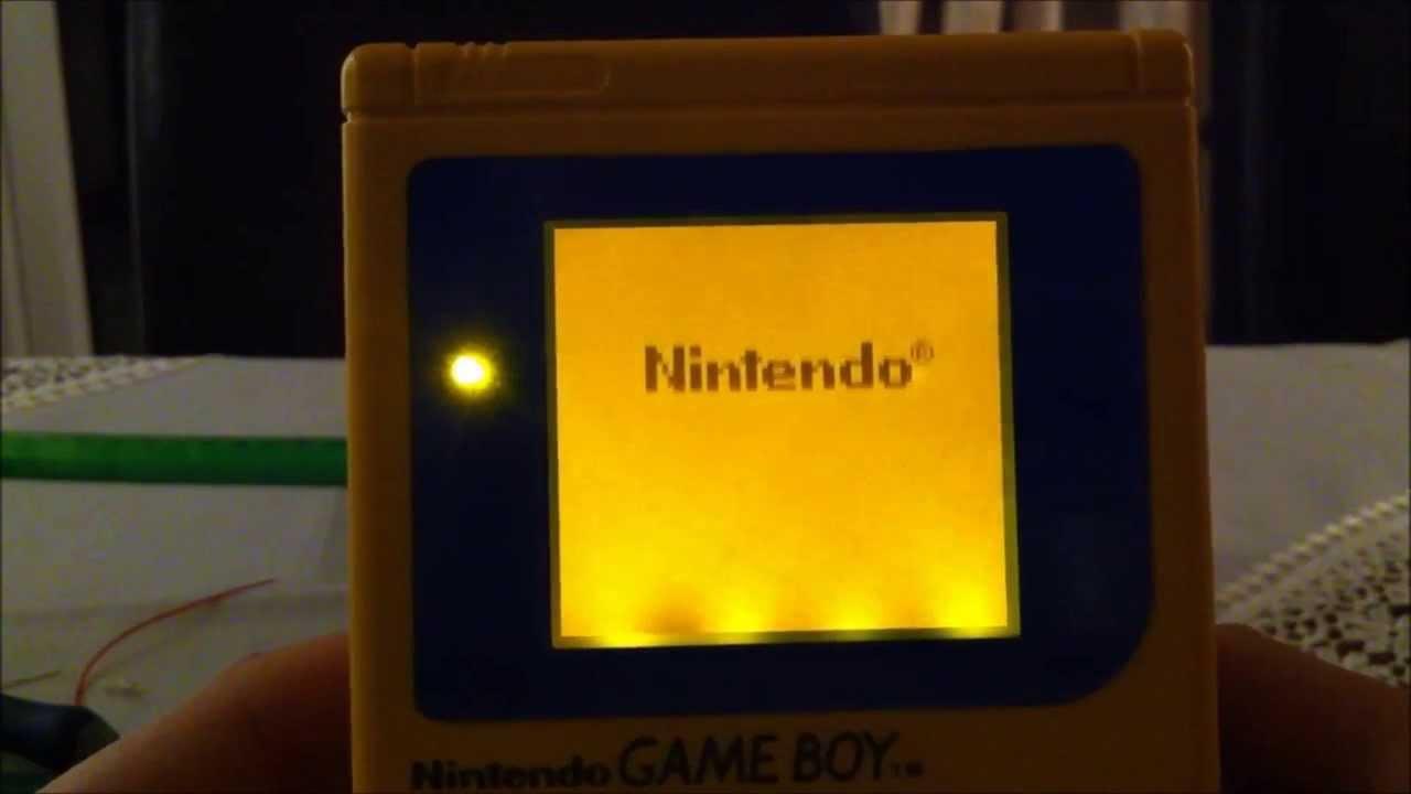 Backlight A Nintendo Gameboy Dmg 01 Tutorial How To