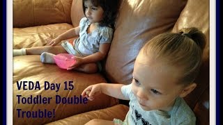 Veda Day 15 ~ Toddler Double Trouble!
