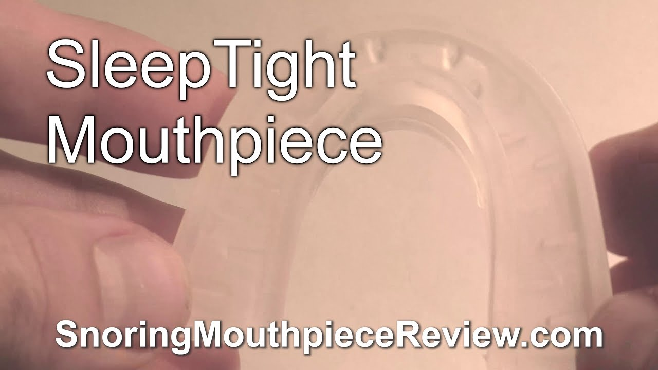 Sleep Tight Mouthpiece Sleeptight Mouthpiece Review Important Details Actual Results