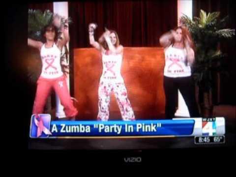 Zumba TV Interview Jacksonville Florida