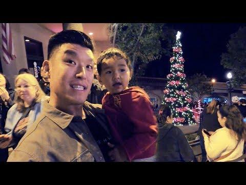 Taking Taika To His First Christmas Tree Lighting!