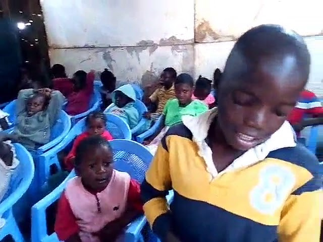 GMFC Kibera Slum Kenya Psalm 127:3 Children Blessing of the Lord