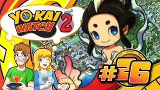 Yo-Kai Watch 2 Bony Spirits Walkthrough Part 26 Battle in the Past (LIVE)