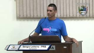41ª S. Ordinária - Sergio Leiteiro