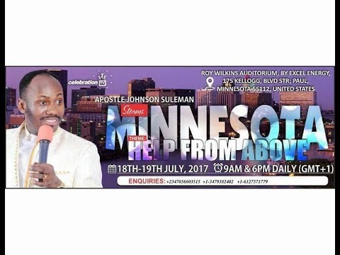Unction For Royalty - (LIVE From Minnesota)  -  Apostle Johnson Suleman
