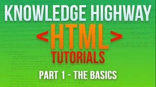 How to program in HTML #1 - The Basics