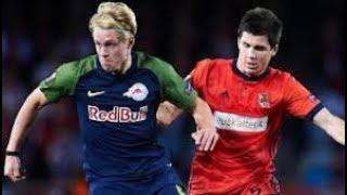 RB Salzburg vs Real Sociedad - Goals & Highlights - Europa League