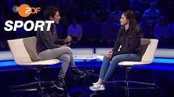 Yusra Mardini im aktuellen sportstudio über ihre Ziele | das aktuelle sportstudio - ZDF