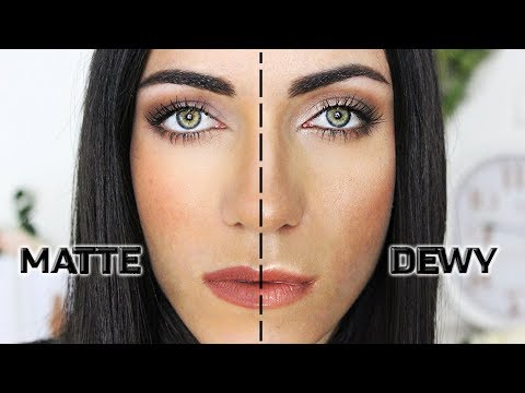 Difference Between Matte And Satin Makeup