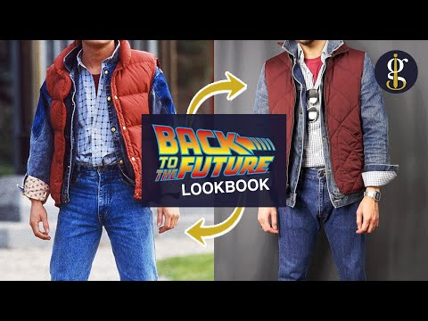 BACK TO THE FUTURE Fashion ReFreshed | Marty McFly, Biff, George, Doc (Styling Cinema Pt. 1)