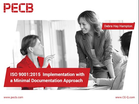 How to successfully implement ISO 9001:2015 with a minimal documents approach