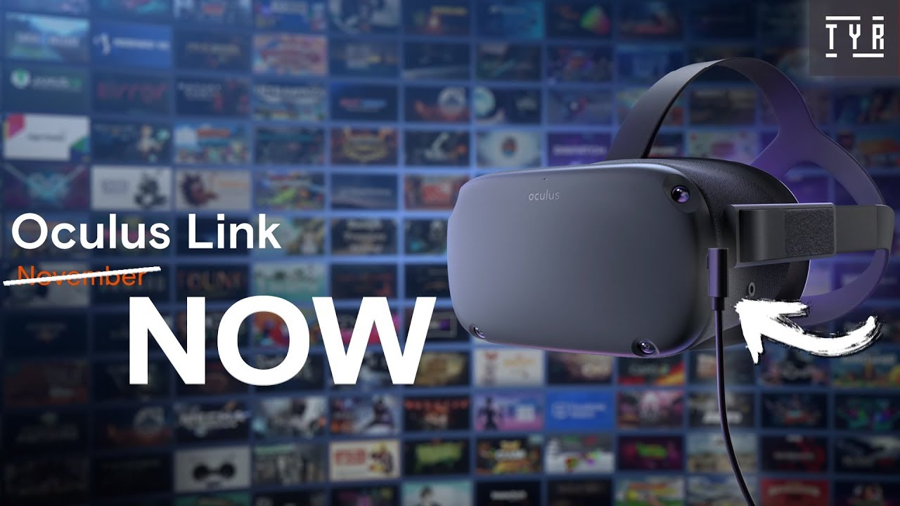 OCULUS LINK - Setup and Overview - Rift & SteamVR games on the Oculus Quest