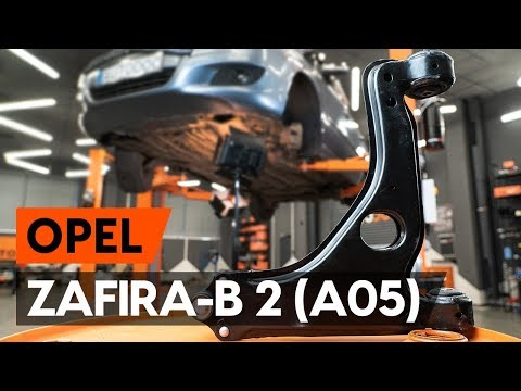 Как заменить передний рычаг подвески OPEL ZAFIRA-B 2 (A05) [ВИДЕОУРОК AUTODOC]