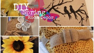 Diy Spring Rustic Room Decor!