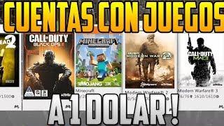 COMPRA TUS CUENTAS CON  JUEGOS A $ 1 | JUEGOS PARA TU XBOX 360 SUPER BARATOS