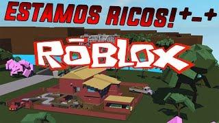 Roblox #27 - Lumber Tycoon 2 - Estamos Ricos!! Ft. Sr.Diamond