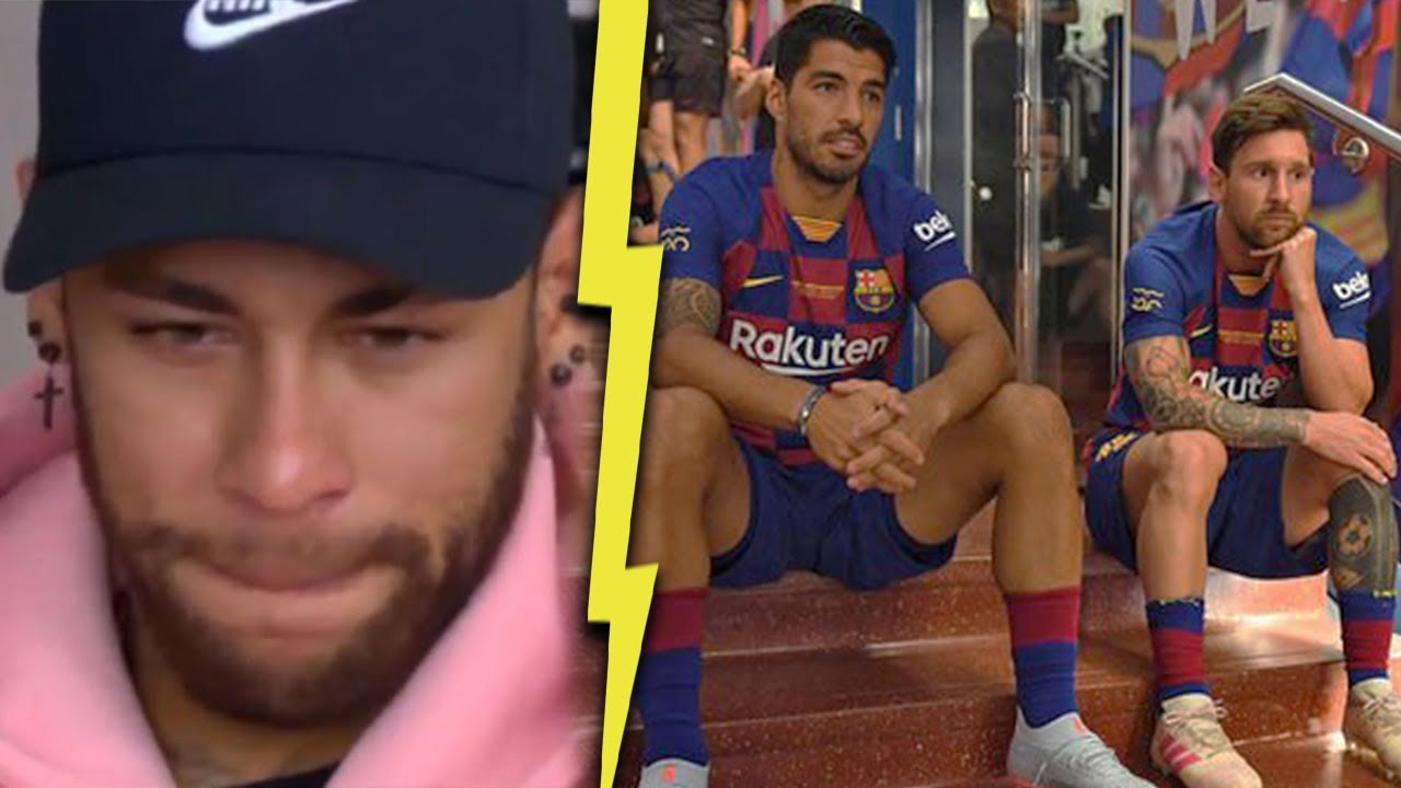 What Lionel Messi Luis Suarez Said To Neymar Before He Left Barcelona Mrmatador Youtube