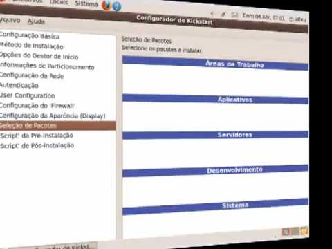 Criando cd de auto instalação linux com o  Kickstart.mp4