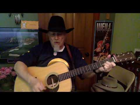 2413 -  Ain't No Grave  - Johnny Cash cover -  Vocal   Acoustic guitar & chords