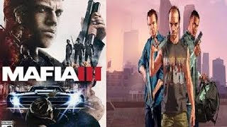 Mafia 3 vs GTA 5_ Gameplay 2017