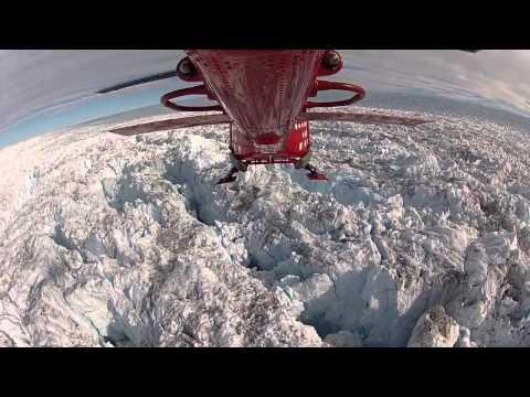 Jakobshavn Glacier    POV Helicopter Ride