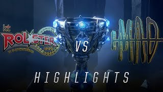 KT vs MAD - Worlds Group Stage Day 7 Match Highlights (2018)