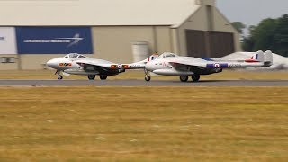 RIAT Air Show England 2018 -    DH Vampire Norwegian Air Force