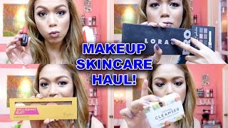 MAKEUP AND SKINCARE HAUL! (LOCAL LANG BES!) - candyloveart