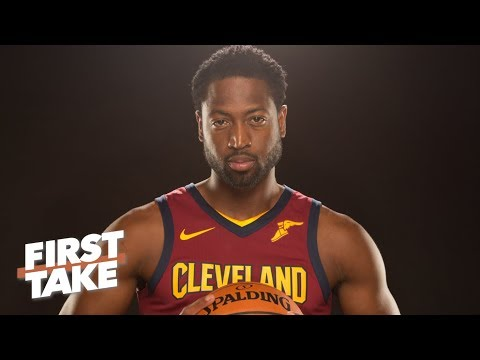 Stephen A. Smith reacts to Dwyane Wade signing with Cavaliers | First Take | ESPN