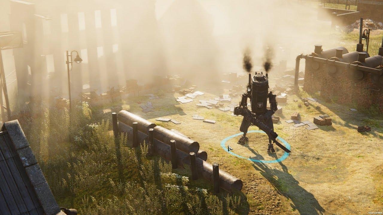 RTS Iron Harvest Demonstrates Impressive Destruction Physics