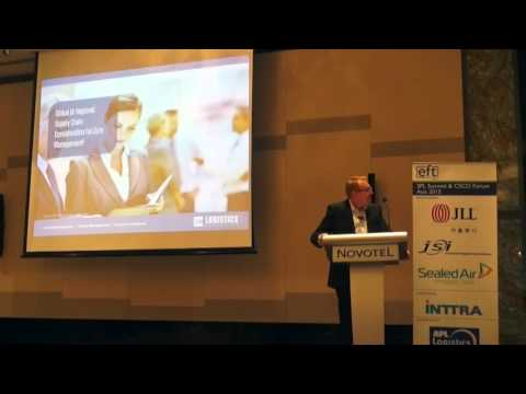 EFT 3PL Summit 2015: The Future of Asia Supply Chain and Logistics