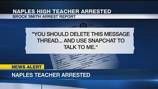Naples HS teacher lures 2 teens into sex with Snapchat, Instagram