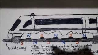 How a Maglev Train works!