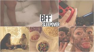 BFF SLEEPOVER NIGHT ROUTINE!! ❤️